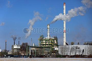 Schwedt  Deutschland  Papierfabrik der Leipa Georg Leinfelder GmbH