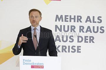 Pressekonferenz vor Beginn der Sitzung der FDP-Bundestagsfraktion  Bundestag