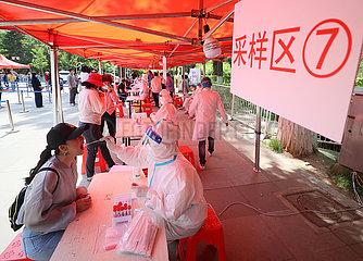 CHINA-LIAONING-SHENYANG-COVID-19-TEST (CN)