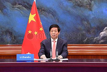 CHINA-BEIJING-LI ZHANSHU-MADAGASCAR-TALKS (CN)