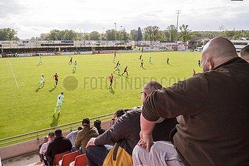 Wieder Zuschauer im Stadion