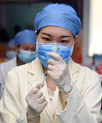 CHINA Beijing-COVID-19-rekombinanten Impfstoff (CN)