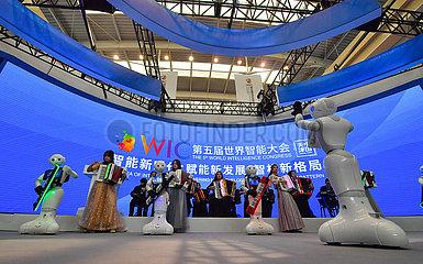 CHINA-TIANJIN-WORLD CONGRESS INTELLIGENCE (CN)