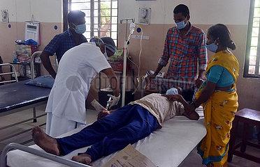 INDIEN-HYDERABAD-Morcheln INFEKTION-BEHANDLUNG