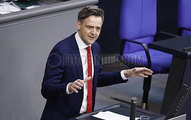 Plenum  Dt. Bundestag  Reichstagsgebaeude  20. Mai 2021