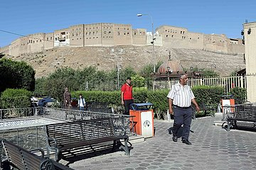 IRAK-ERBIL-CITADEL-TOURISMUS