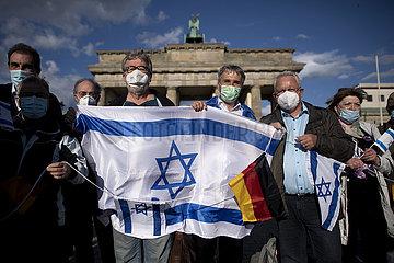 Pro-Israel-Demonstration  Berlin