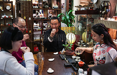 AUSTRALIEN-SYDNEY-chinesische Teekultur