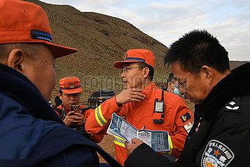 (SPOT NEWS) CHINA-GANSU-BERG-MARATHON Todesrate (CN)