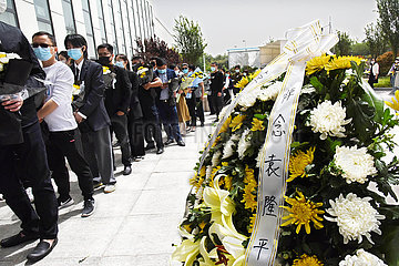 CHINA-SHANDONG-QINGDAO-YUAN Longping-MOURNING (CN)