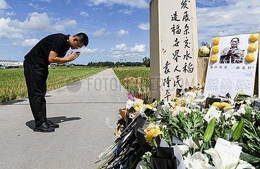 CHINA-HAINAN-SANYA-YUAN Longping-MOURNING (CN)