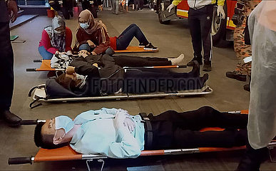 MALAYSIA-KUALA LUMPUR-Metros-COLLISION