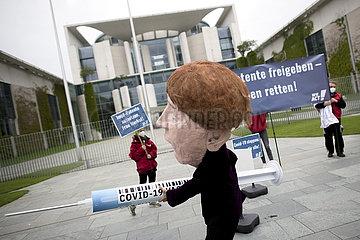 Protest Impfpatente Freigeben