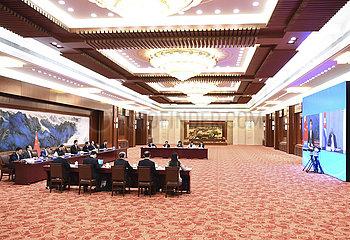 CHINA Beijing-LI-Zhanshu CUBA-Talk (CN)