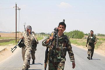 AFGHANISTAN-Jawzjan-MILITÄR OPERATION