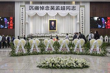 CHINA-Shanghai-WU-Mengchao Gedenkfeier (CN)