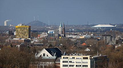 Gelsenkirchen  Ruhrgebiet  Nordrhein-Westfalen  Deutschland