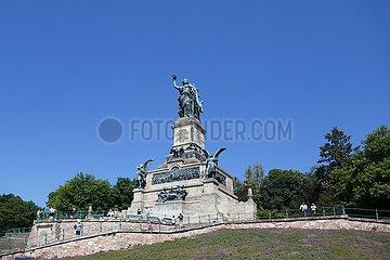 Niederwalddenkmal bei Rüdesheim  Germania | Niederwald Monument near Rüdesheim  Germania