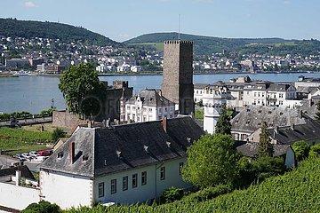 Rüdesheim  Boosenburg und Adlerturm | Rüdesheim  Boosenburg and Adlerturm
