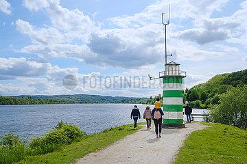 Kemnader See  Ruhr  Nordrhein-Westfalen  Deutschland