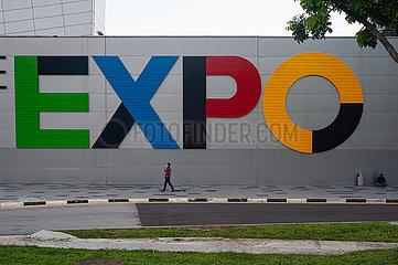 Singapur  Republik Singapur  Singapore Expo Kongress- und Ausstellungszentrum