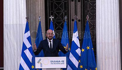 GRIECHENLAND-ATHEN-EU-ANNIVERSARY GRIECHENLAND-ATHEN-EU-JAHRESTAG