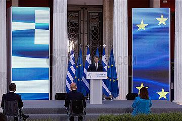 GRIECHENLAND-ATHEN-EU-JAHRESTAG