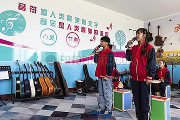 CHINA-HEILONGJIANG-HARBIN-Land-Musikklasse (CN)