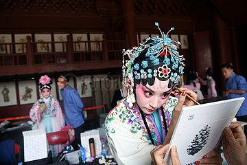 CHINA-PEKING PALASTES Museum kunqu OPER (CN)