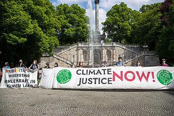 Fridays for Future demonstriert für das 1 5-Grad-Ziel in München