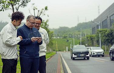 CHINA-CHONGQING-AUTOMATIC Einparkhilfesystem-DEVELOPER (CN)