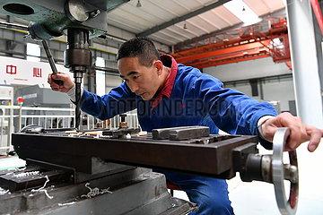 CHINA-SHANXI-hubschrauber MANUFACTURING BASE (CN)