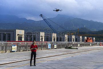 CHINA-GUANGXI-Guiping-FISH ARZT (CN)