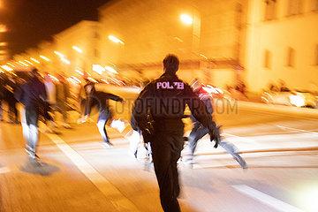 Partynacht in München
