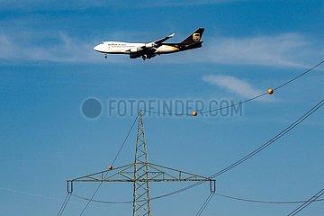 UPS Boeing B747 im Landeanflug | UPS Boeing B747 approaching for landing