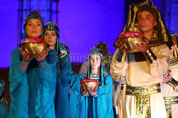 ÄGYPTEN-KAIRO-OPERA AIDA-PERFORMANCE