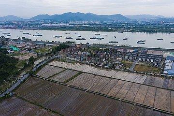 CHINA-ZHEJIANG-Hangzhou-yushan TOWNSHIP Säen (CN)