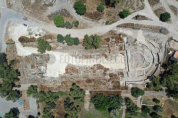 ISRAEL-ASHKELON-BASILIKA-ENTDECKT