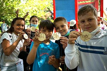 TSCHECHIEN-PRAG-CHILDREN'S DAY