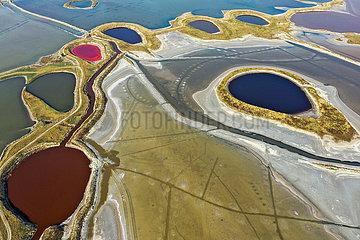 CHINA-SHANXI-yuncheng-SALT LAKE-VIEW (CN) CHINA-SHANXI-yuncheng-SALT LAKE-VIEW (CN) CHINA-SHANXI-yuncheng-SALT LAKE-VIEW (CN)