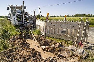 Glasfaserausbau auf dem Land