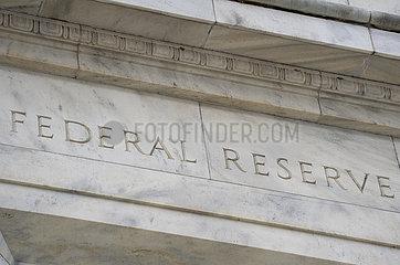 US-WASHINGTON-D.C.-Federal Reserve-UMFRAGE