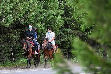 CHINA-XINJIANG-Narat-horse-Reisen (CN)