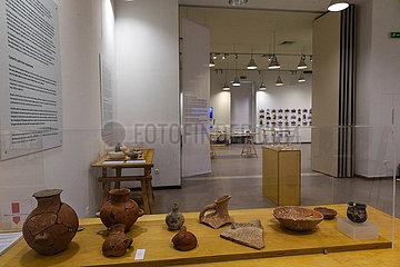 GRIECHENLAND-ATHEN-archäologische Ausstellung