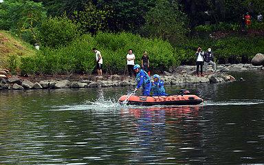 CHINA-HAINAN-HAIKOU geschädigter DELPHIN-Rescue (CN)