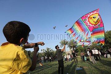 IRAK-BAGDAD-KITE FESTIVAL