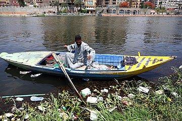 ÄGYPTEN-GIZA-Nil-CLEAN