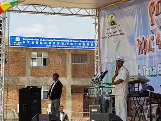 ÄTHIOPIEN-Amhara-CHINA-Zuckerfabrik-EINWEIHUNG