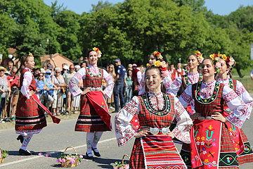 BULGARIEN-Kazanlak-ROSE FESTIVAL