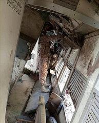 PAKISTAN-Ghotki-TRAIN-UNFALL